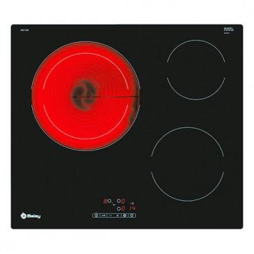 Piano cottura in vetroceramica Balay 3EB715ER 3F 5700W 60cm Nero