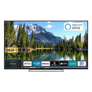 "Smart TV Toshiba 55VL5A63DG 55"" 4K Ultra HD LED WiFi Nero"