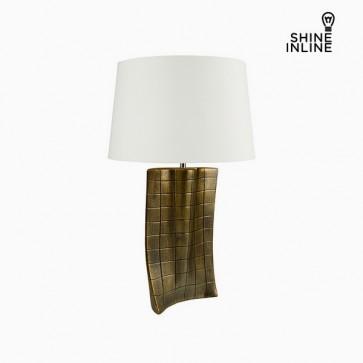 Lampada da Tavolo Oro Ceramică (40 x 9 x 66 cm) by Shine Inline