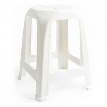 Sgabello Aroa Plastica Bianco (26 X 26 x 47 cm)