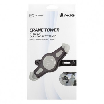 Supporto per Tablet 360º NGS Crane Tower Nero