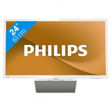 """Smart TV Philips 24PFS5863 24"""" Full HD LED WIFI Bianco"""