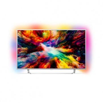 "Smart TV Philips 55PUS7363 55"" 4K Ultra HD LED WIFI Argentato"