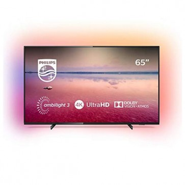 "Smart TV Philips 65PUS6704 65"" 4K Ultra HD LED WiFi Nero"
