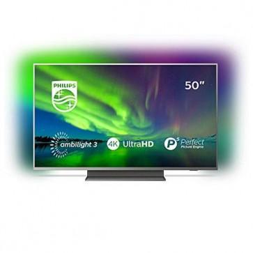 "Smart TV Philips 50PUS7504 50"" 4K Ultra HD LED WiFi Ambilight Grigio"