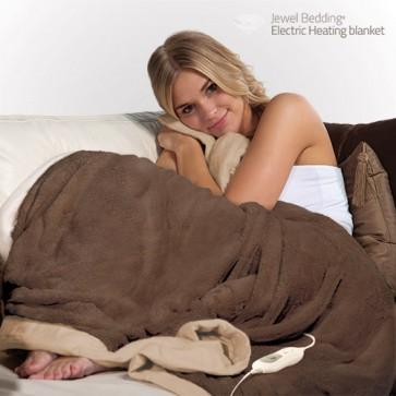 Coperta in Pile Elettrica Electric Heating Blanket 160 x 120 cm
