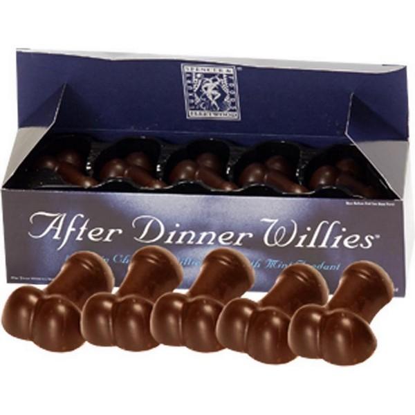 figure di pene di cioccolato