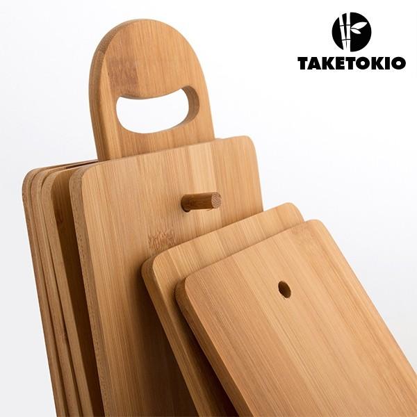 Set da Tavola da Cucina di Bambù con Supporto TakeTokio (7 pezzi ...
