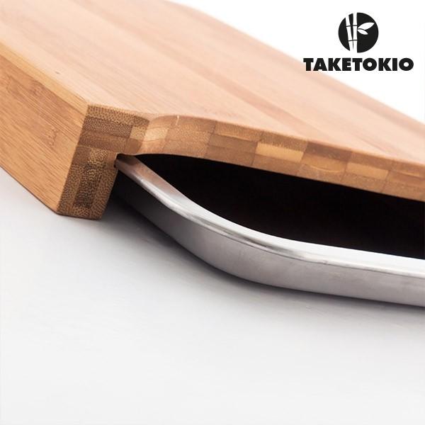 Tagliere da Cucina in Bambù Take Tokio con Vassoio Tagliare ...