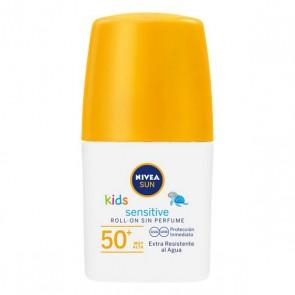 Protettore Solare Roll-on Sensitive Kids Nivea (50 ml)