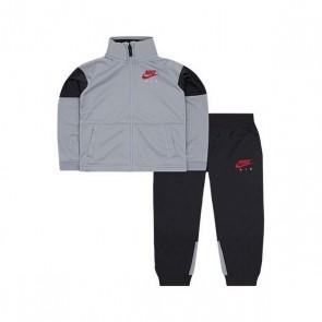 Tuta per Neonati Nike 627S-174 Grigio Nero