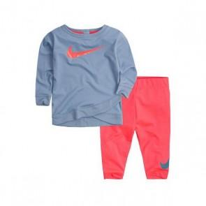 Tuta per Neonati Nike 669S-A5C Azzurro Rosa