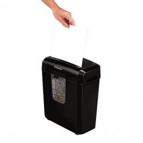 Distruggi Documenti Micro Taglio Fellowes 4687401 11 L 6 Foglie Nero