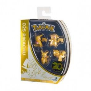 Set di Cifre Pokemon Pikachu 20th Anniversary Bizak (4 pcs)