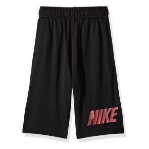 Pantalone Sportivo per Bambini Nike B NK DRY SHORT LEG GFX Nero (Taglia usa)