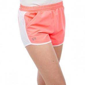Pantaloncini Sportivi da Donna Under Armour 1297125 Corallo