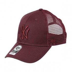Cappello Sportivo Ny Yankees Forty Seven B-BRANS17CTP-KM Rosso granato