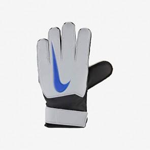 Guanti da Portiere per Bambini Nike GK Match JR FA18 Bianco Azzurro
