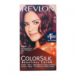 Tintura Senza Ammoniaca Colorsilk Revlon Borgogna