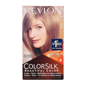 Tintura Senza Ammoniaca Colorsilk Revlon Biondo scuro