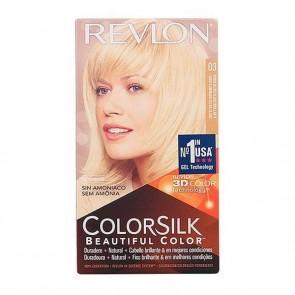 Tintura Senza Ammoniaca Colorsilk Revlon Biondo ultra chiaro naturale