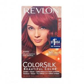 Tintura Senza Ammoniaca Colorsilk Revlon Rosso vibrante