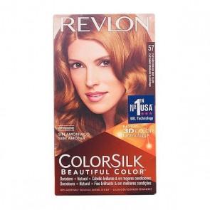 Tintura Senza Ammoniaca Colorsilk Revlon Castano dorato chiarissimo