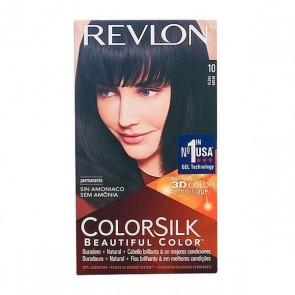 Tintura Senza Ammoniaca Colorsilk Revlon Nero