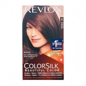 Tintura Senza Ammoniaca Colorsilk Revlon Castano