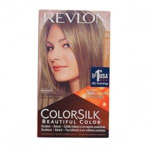 Tintura Senza Ammoniaca Colorsilk Revlon Biondo scuro cenere
