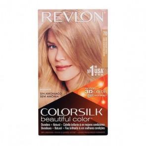 Tintura Senza Ammoniaca Colorsilk Revlon Biondo chiaro cenere
