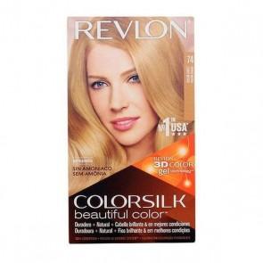 Tintura Senza Ammoniaca Colorsilk Revlon Biondo