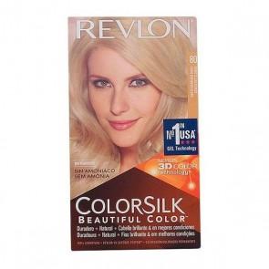Tintura Senza Ammoniaca Colorsilk Revlon Biondo cenere