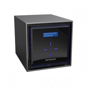 Memorizzazione in Rete NAS Netgear RN42400-100NES Intel Atom C3338 2 GB RAM 48 TB Nero