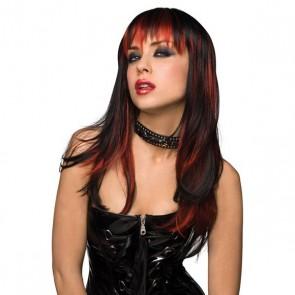 Nero con Rosso Bruciato Pleasure Wigs 81314