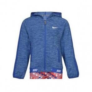 Felpa con Cappuccio Bambino Nike 937-B8Y Azzurro
