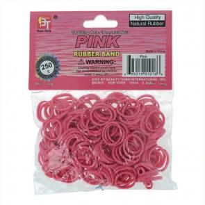 Elastici per Capelli Beauty Town Rosa (250 uds)=