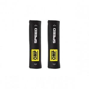 Cuscinetti per Cinture di Sicurezza OMP Speed 1028 Neagră (2 uds)