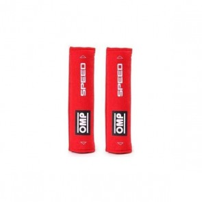 Cuscinetti per Cinture di Sicurezza OMP Speed 1029 Roșie (2 uds)