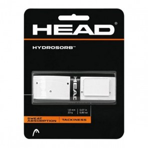 Grip Tennis Head Hydrosorb 1,8 mm Elastomero Bianco