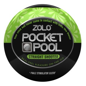 Masturbatore Pocket Pool Straight Shooter Zolo ZOLOPPSTS