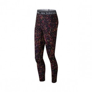 Leggings Sportivo da Donna New Balance WP81136 BM Multicolore
