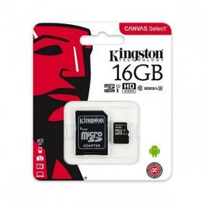 Scheda Micro SD Kingston SDCS/16GB 16 GB