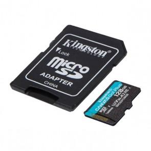 Scheda Di Memoria Micro SD con Adattatore Kingston SDCG3 Nero