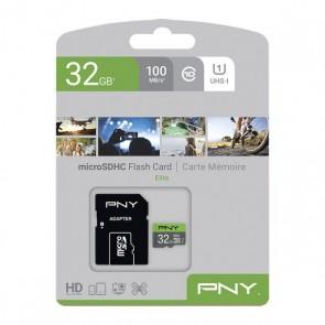 Scheda Di Memoria SDHC PNY Elite 32 GB Nero