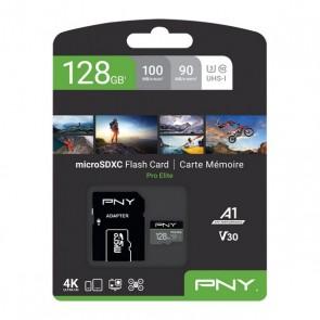 Scheda Di Memoria Micro SD con Adattatore PNY Pro Elite C10