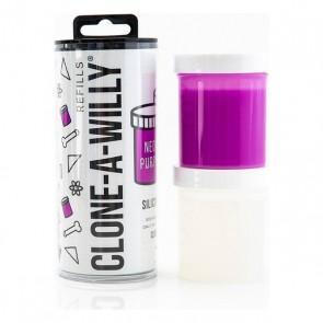 Ricarica di Silicone per Clonatore di Pene Neon Purple Clone A Willy