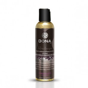 Olio per Massaggi Commestibile Chocolate Mousse 125 m Dona D40537