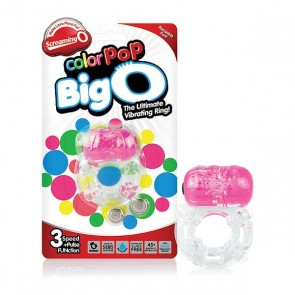 Anello Fallico Color Pop Big O Rosa The Screaming O SCCPBO