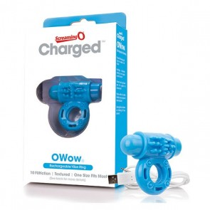 Anello Vibrante Charged Owow Blu The Screaming O 12433